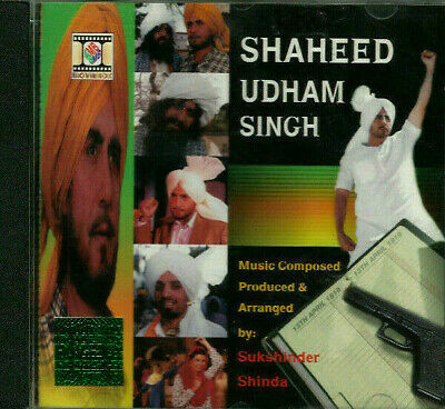 SHAHEED UDHAM SINGH CD Music: Sukshinder Shinda * BOLLYWOOD * HINDI * INDIAN * • 13.99£