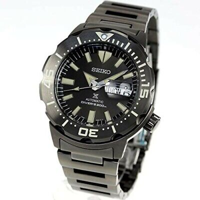 $ CDN836.16 • Buy SEIKO Watch SBDY037 PROSPEX Monster Men's Black Dial Band Analog Round Face