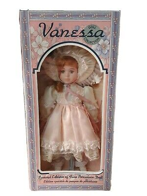 $ CDN16.94 • Buy  VANESSA DOLL COLLECTION Collectors Dreams Porcelain 1996 SERIES