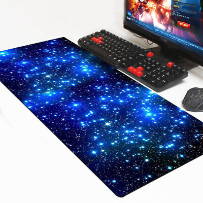 Large Galaxy Anti-Slip Laptop Computer Gaming  Mouse Pad Keyboard Mat 60*30CM • 5.95£