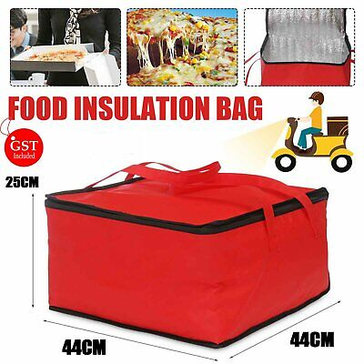 AU21.99 • Buy 42*42*23 Insulated Pizza Delivery Bag Carry Backpack For Uber Food Delivery Bag