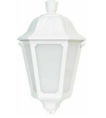White Outdoor Wall Light • 9.99£