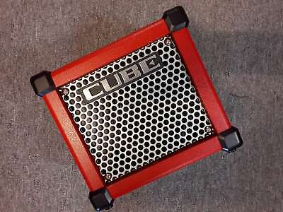 AU275 • Buy Roland Amp - MICRO CUBE GX Guitar Amplifier (Red)