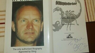 AU117.20 • Buy Sting Signed Book Very Rare