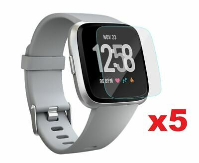 $ CDN5.03 • Buy For Fitbit Versa 5x Screen Protector Film Cover For Fitbit Smart Watch