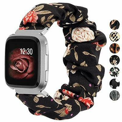 $ CDN16.14 • Buy Bands For Fitbit Versa / 2/Versa Lite & Special Edition Soft Elastic Pattern ...