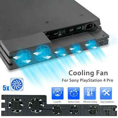 AU24.54 • Buy Fan For PS4 / Pro Game Accessories Play Station 4 Host Cooling Cooler External