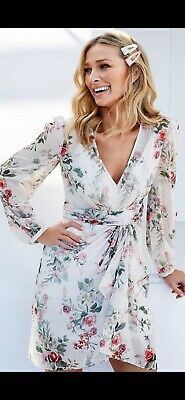 AU69.99 • Buy FOREVER NEW FLORAL DARCY DRESS BN SZ 6 Wedding Party