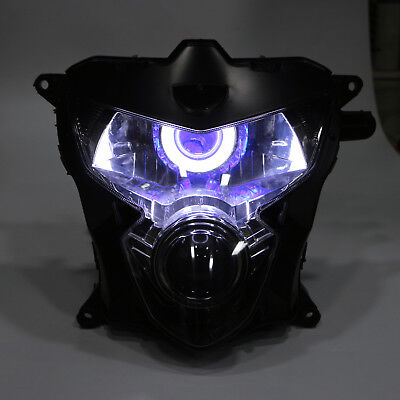 $299 • Buy LED Demon Angel Eye HID Projector Headlight Assembly Fit For GSXR 600 750 K4