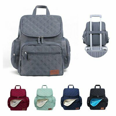 AU30.90 • Buy GENUINE LAND Large Multifunctional Baby Diaper Nappy Backpack Mummy Changing Bag
