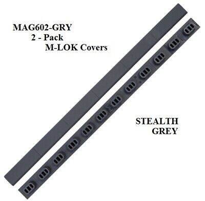 $17.49 • Buy Magpul MLOK Rail Cover For M-LOK Slots Type 1 - 2 Pack MAG602- Stealth Grey -NEW