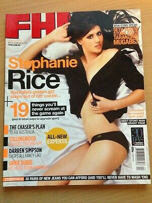 AU39.99 • Buy FHM For Him Magazine September 2008 Stephanie Rice Amber Heard Maggie Grace