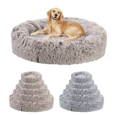 Dog Pet Cat Calming Bed Beds Large Mat Comfy Puppy Washable Fluffy Cushion Plush • 59.94£