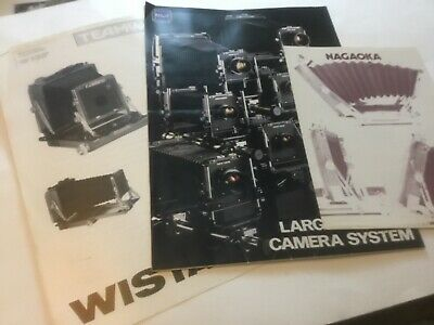 Rare Toyo Wista Nagaoka Camera Catalogue Brochure Leaflet C1980s  • 20£