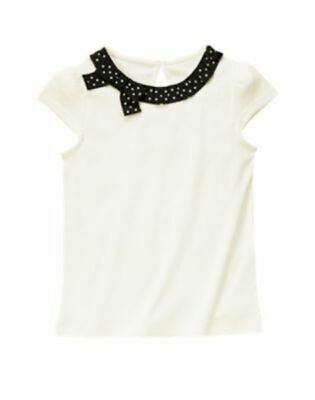 $8.99 • Buy NWT Gymboree Bee Chic White Shirt Size 4 4T