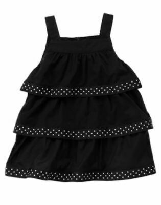 $9.99 • Buy NWT Gymboree Bee Chic Black Swing Top Size 4 4T