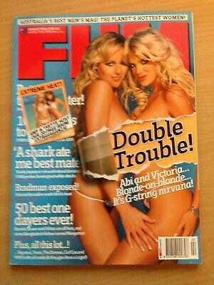 AU24.99 • Buy FHM For Him Magazine February 2005 Victoria Silvstedt Abi Titmuss Beyonce