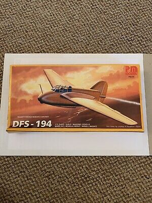 £16 • Buy Vintage PM Model  1/72 Scale Rocket Powered Research Aircraft DFS-194 - PM-215