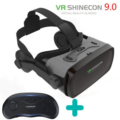 AU62.99 • Buy Pansonite VR Headset 3D IMAX Virtual Reality Box Glasses With Remote Controller