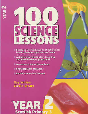 100 Science Lessons For Year 2-Carole Creary, Gay Wilson • 5£