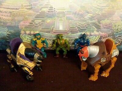 $25.25 • Buy Motu Heman Masters Stridor Night Stalker Merman King Kobra Webstor Lot H4