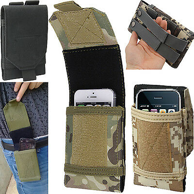 AU17.60 • Buy Universal BeltLoop CamoArmy Holster Utility Case Cover For Lots Of Mobile Phones