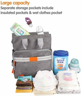 $ CDN33.43 • Buy Double Decker Lunch Bag Insulated Baby Bottle Warmer Breast Milk Cooler Momcozy