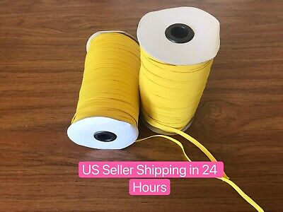 $ CDN13.29 • Buy Marigolds Yellow 10 Yards 1/4 Inch (6 Mm) Elastic Cord