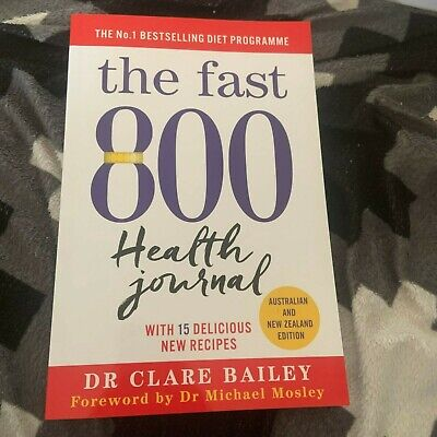 $7.97 • Buy New, Dr Clare Bailey. The Fast 800 Health Journal. 2020