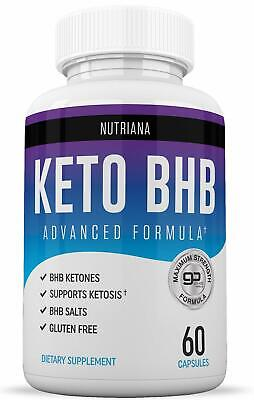 $15.99 • Buy KETO BHB Advanced Weight Loss Diet From Shark Tank, Keto Pills NUTRIANA