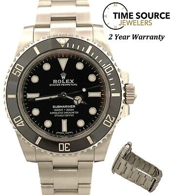 $ CDN11140.52 • Buy Rolex Submariner No Date Ceramic Automatic Stainless 40mm 114060 Watch