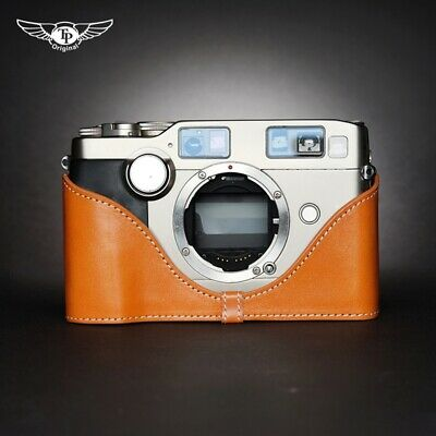 $ CDN70.35 • Buy Contax G2 Camera Retro Half Case Genuine Leather Protective Insert TP Handmade