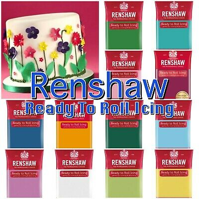 RENSHAW Ready To Roll Fondant Icing Special Occassion Cake Decoration 250g • 2.49£