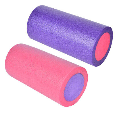 AU25.58 • Buy Yoga Pilates Foam Roller Tools For Relieve Column Fitness Sticks 45cm/17.7in New