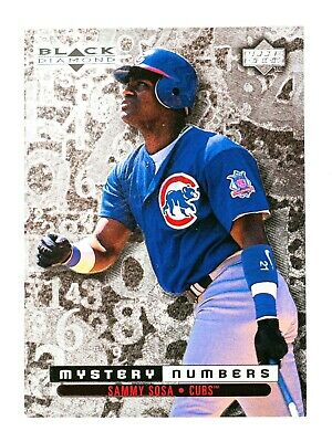 $5 • Buy Sammy Sosa #M16 (1998 Upper Deck) Mystery Numbers 1172/1600, Chicago Cubs