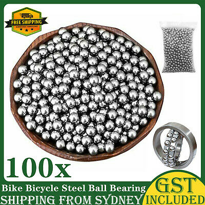 AU10.99 • Buy 2.5mm 3mm 4mm 5mm 6mm 8mm Bike Bicycle Steel Ball Bearing Replacement Parts AU
