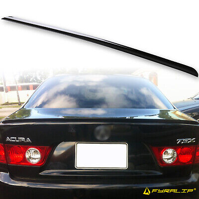$ CDN107.15 • Buy Fyralip Y22 Painted B92P Nighthawk Black Trunk Lip Spoiler For Acura TSX 04-08