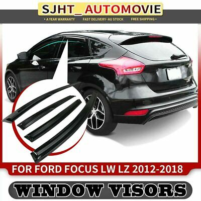 AU40.99 • Buy 4x Brand New Weather Shield Window Visors Fit Ford Focus LW LZ Hatchback 12-18
