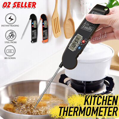 AU9.95 • Buy Candy Jam Meat Cooking Food Digital Thermometer Kitchen BBQ Temperature Probe OZ