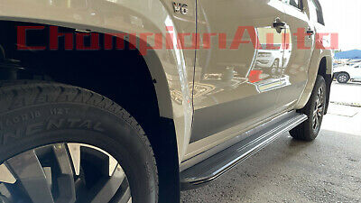 AU389 • Buy SsangYong Musso / Musso XLV Dual Double Cab 4 DOORS Side Steps 2019-2022(XRB)
