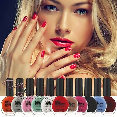 Stargazer GEL EFFECT Nail Polish Extra Glossy Gel Like Varnish No Lamp Needed • 3.70£