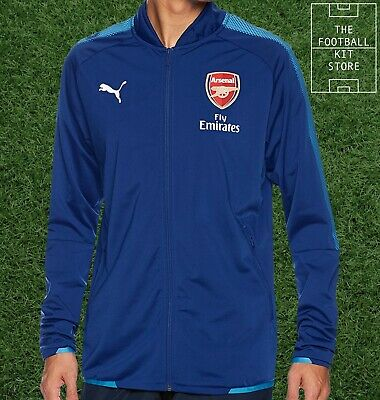 Arsenal Stadium Jacket - Boys - Official Puma Football Training Wear - All Sizes • 17.99£