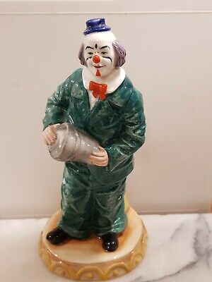 Royal Doulton  Will He Won't He  Hn 3275 1989 Clown  Figurine  Robert Tabbenor   • 75£