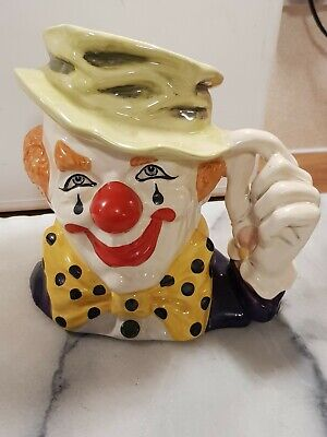 Royal Doulton  The Clown  Jug D 6834 Dated 1988  • 60£