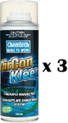AU69.99 • Buy Chemtech AirCon Kleen Air Conditioner Cleaner Citrus Scent Aerosol 150g X 3