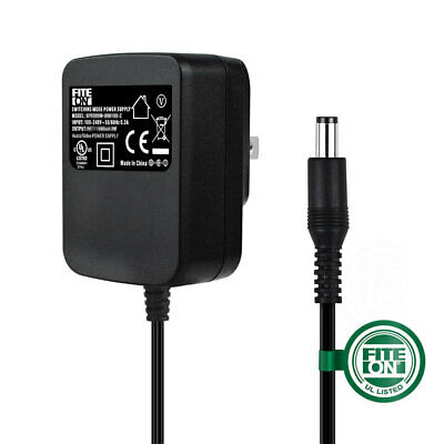 $12.95 • Buy Fite ON 9V AC Adapter Charger For M-Audio Venom Synth Power Supply Cord Mains