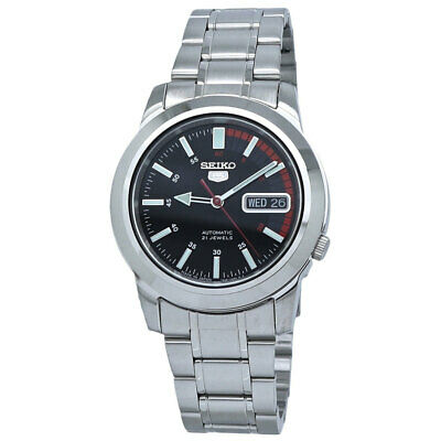 $ CDN159.99 • Buy Seiko Series 5 Automatic Black Dial Men's Watch SNKK31J1
