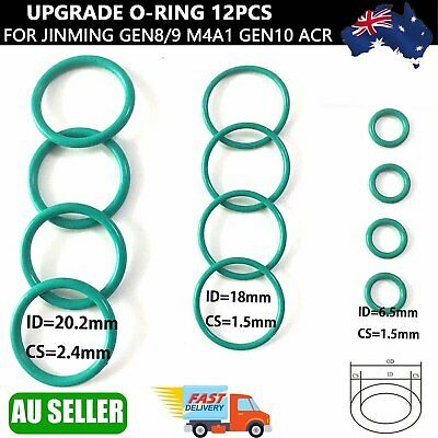 AU10.99 • Buy O-ring For Jinming M4A1 Gen8 J9 Gen10 ACR Gel Ball Plunger Upgrade Green Oring A