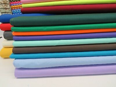 PolyCotton Drill Fabric Twill Material Ideal For Uniforms Workwear & Furnishing • 7.99£