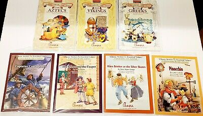 $9.95 • Buy Lot Of 7 Childrens Books Crafts From The Past Classic Stories Chick Fil A New!